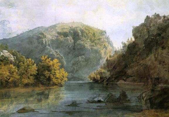 Карл Бодмер. Горы