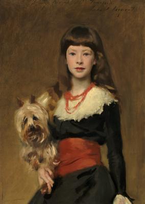 John Singer Sargent. Miss Beatrice Townsend