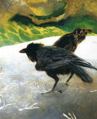 Jamie Wyeth. Sea ice