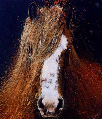 Роберт Жерар. Лошадь