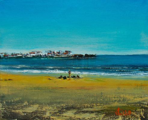 Alexander Alekseevich Lednev. Brittany. France