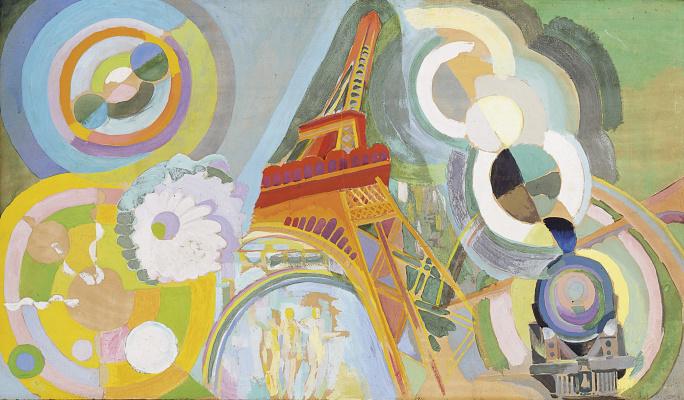 Robert Delaunay. Air, iron and water