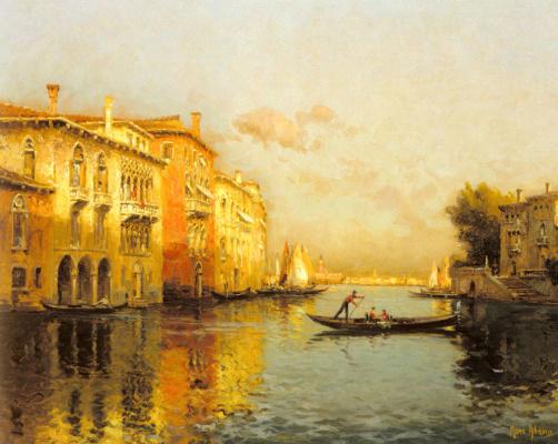 Марк Олдин. Венецианский канал