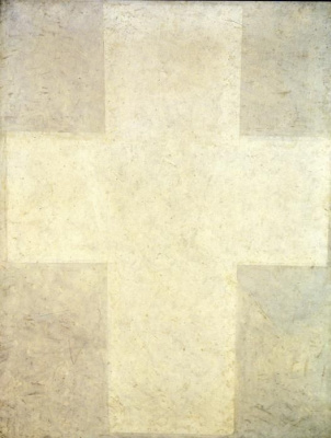 Kazimir Malevich. The White Suprematist Cross