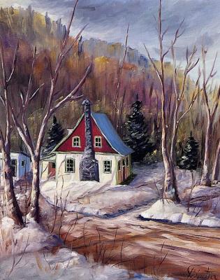 Пол Клутье. Зима