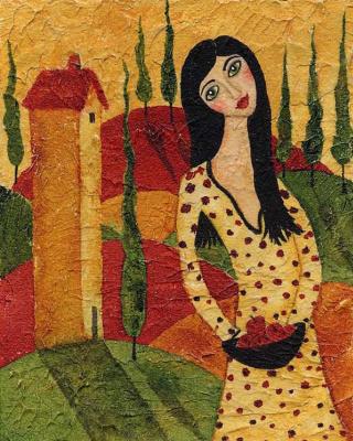 Деби Хаббс. Желтое платье в горошек