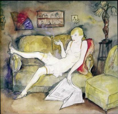 Жанна Маммен. La Garconne, 1931