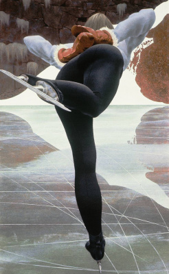 Алекс Колвилл. Конькобежец