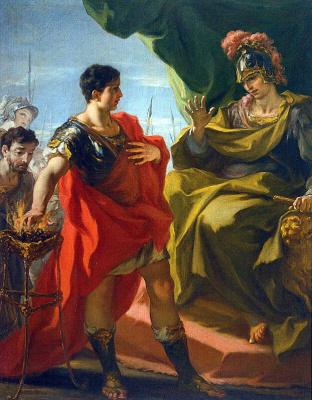Giovanni Antonio Pellegrini. Music Of Scaevola