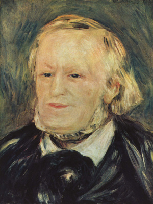 Pierre-Auguste Renoir. Portrait Of Richard Wagner