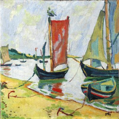 Макс Пехштейн. Рыбацкие лодки