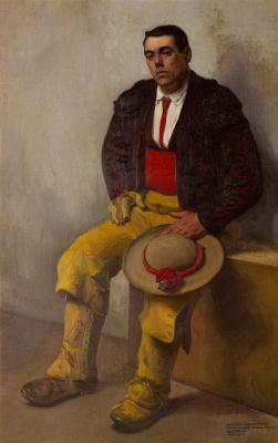 Диего Мария Ривера. Тореадор