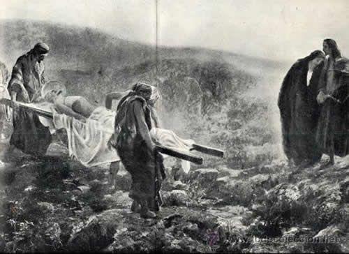 Хоакин Соролья (Соройя). Погребение Христа