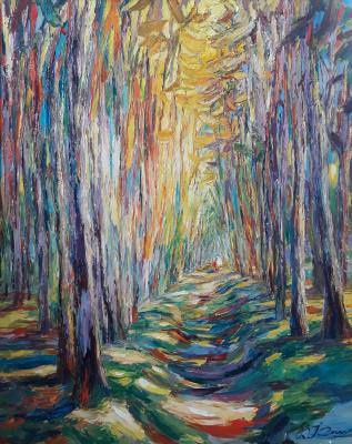 Валерий Иванович Сосна. Солнечный лес