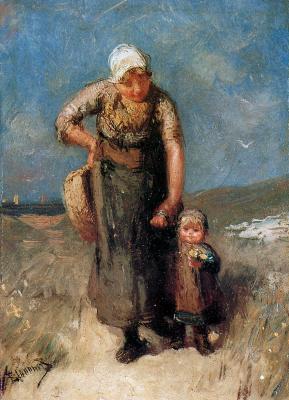 Бернардус Бломмерс. Мать и ребенок