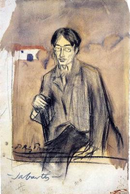 Pablo Picasso. Portrait of Jaime Sabartes sitting