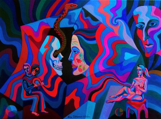 Nina Tokhtaman Valetova. Moira And Threads Of Life