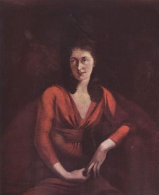 Johann Heinrich Fuessli. Portrait of Magdalena Hess of Zurich