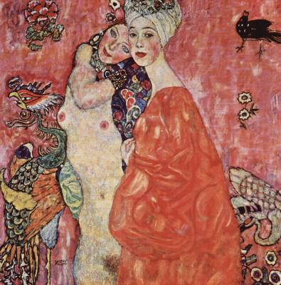 Gustav Klimt. Friend