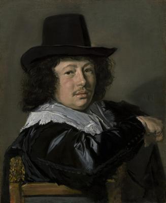 France Hals. Portrait of a young man