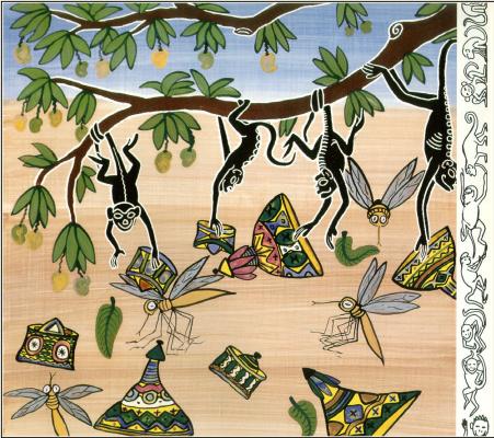 Продавец шляп и обезьяны 13