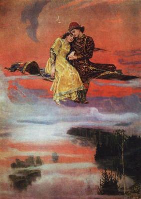 Victor Mikhailovich Vasnetsov. Carpet