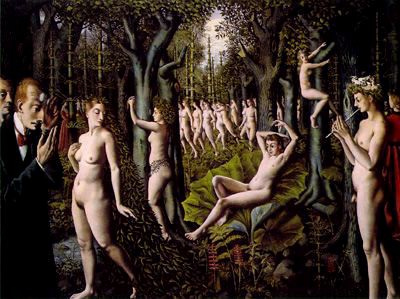 Paul Delvo. The awakening of the forest