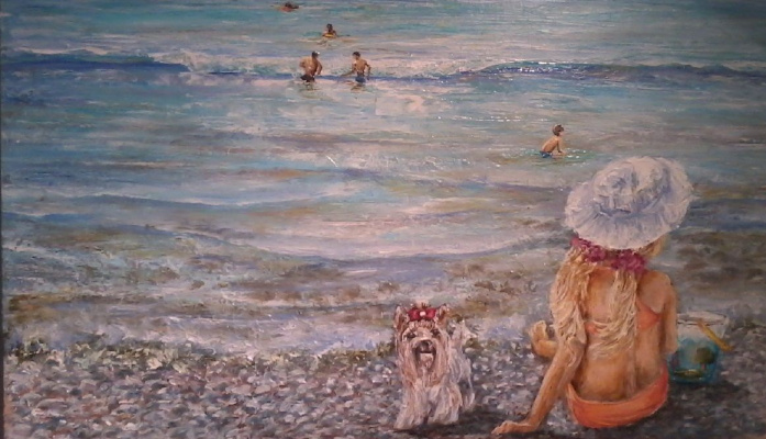 Валерий Владимирович Пахомов. На море