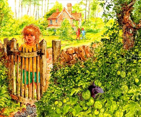 Патриция Ладлоу. Когда дети заблудились в лесу