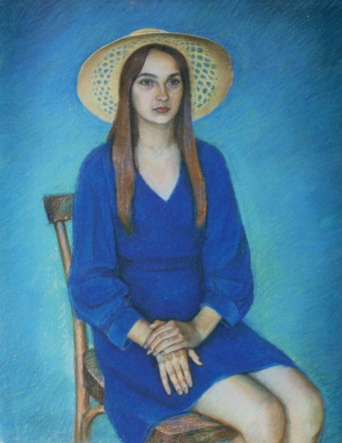 Boris Georgievich Bosko. Portrait of Tatyana Stepanova