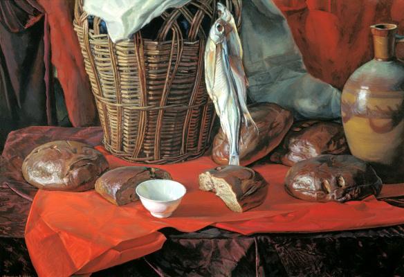 Victor Matorin. Five loaves