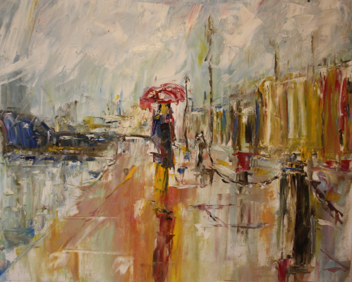 Vsevolod Chistyakov. Paintings Of Saint Petersburg English Embankment Attractions