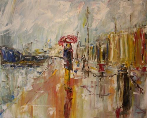 Vsevolod Chistyakov. Paintings Of Saint Petersburg English Embankment Attractions