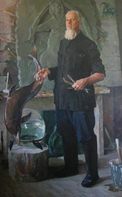 Дмитрий Дмитриевич Жилинский. «Портрет скульптора И.С.Ефимова» 1954