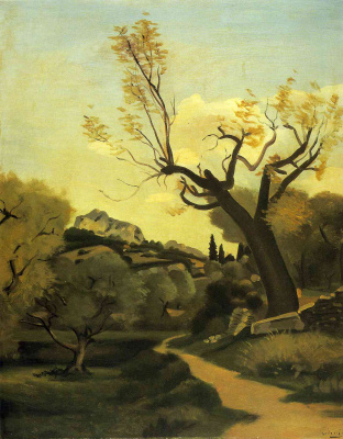 Andre Derain. The road and the tree
