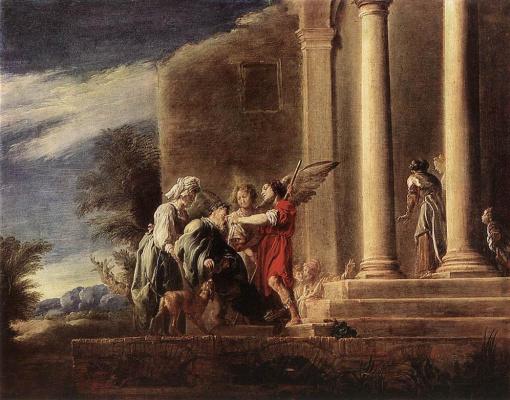 Доменико Фетти. Исцеление