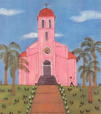 Фран Лессак. Розовая церковь