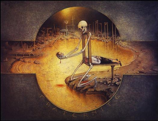Клод Верлин. Скелет с головой