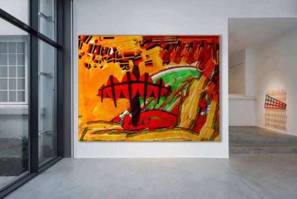 Kustokusto.ru. Malevich`s Land #45 - digital print
