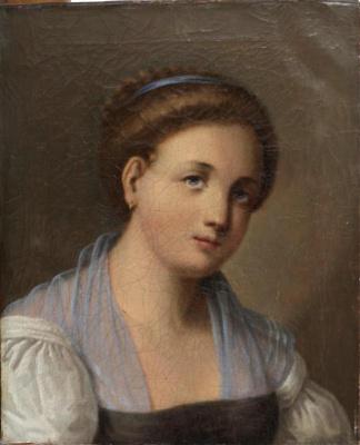 Павел Петрович Веденецкий (Веденцов). Portrait of a girl
