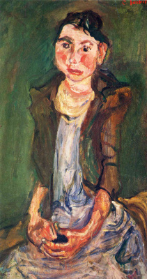Chaim Soutine. A peasant girl