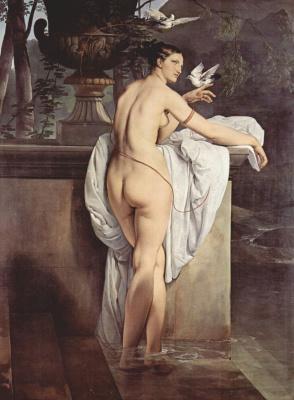 Франческо Айец. Портрет балерины Шарлотты Чеберт в виде Венеры