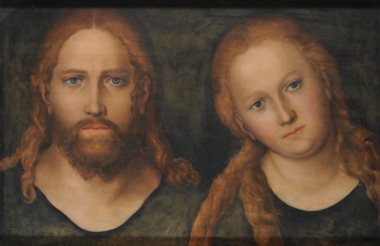 Лукас Кранах Младший. Иисус и Мария Магдалена