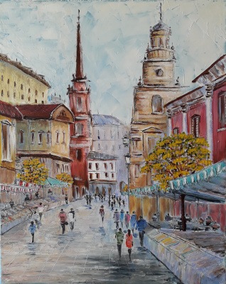 Sergey Vladislavovich Pichugin. By the city streets