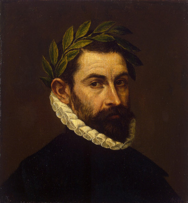 Domenico Theotokopoulos (El Greco). Portrait of the poet Alonso zúñiga and Ersilia