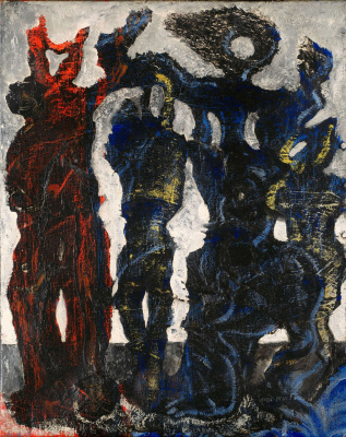 Max Ernst. Horde