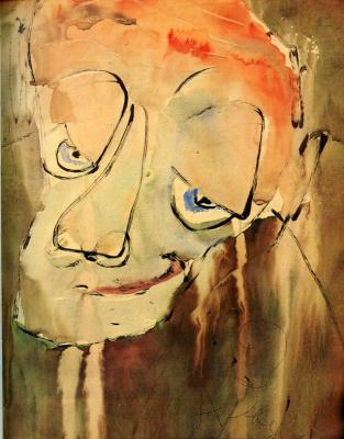 Anatoly Zverev. Portrait Of R. Falk