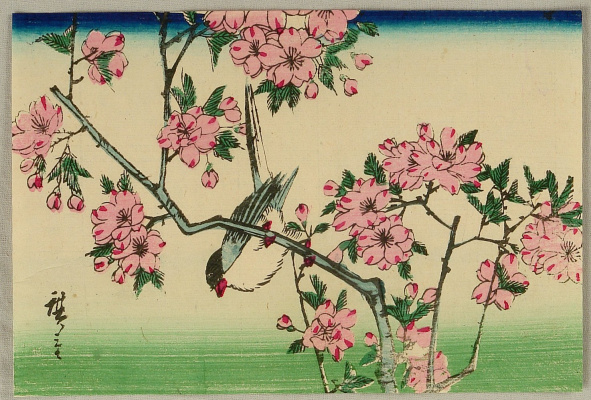 Utagawa Hiroshige. Bird and Cherry Blossoms