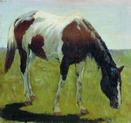 Alexey Stepanovich Stepanov (1858-1923). Horse 1900-1910
