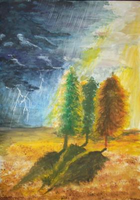 Julia Sergeevna Bochkareva. Thunderstorm
